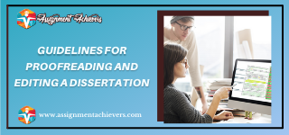 Proofreading dissertation services